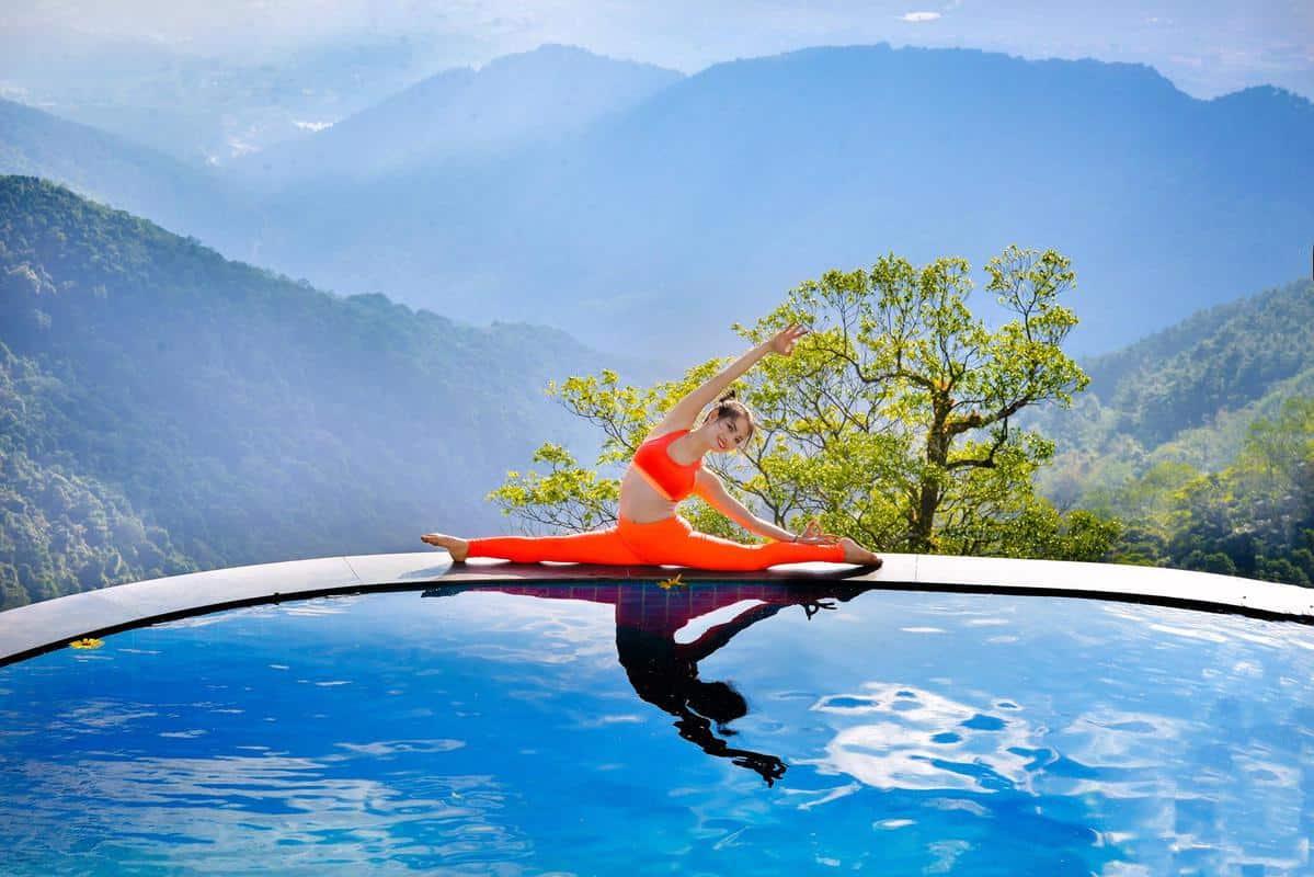 Farmstay kết hợp những bài tập Yoga