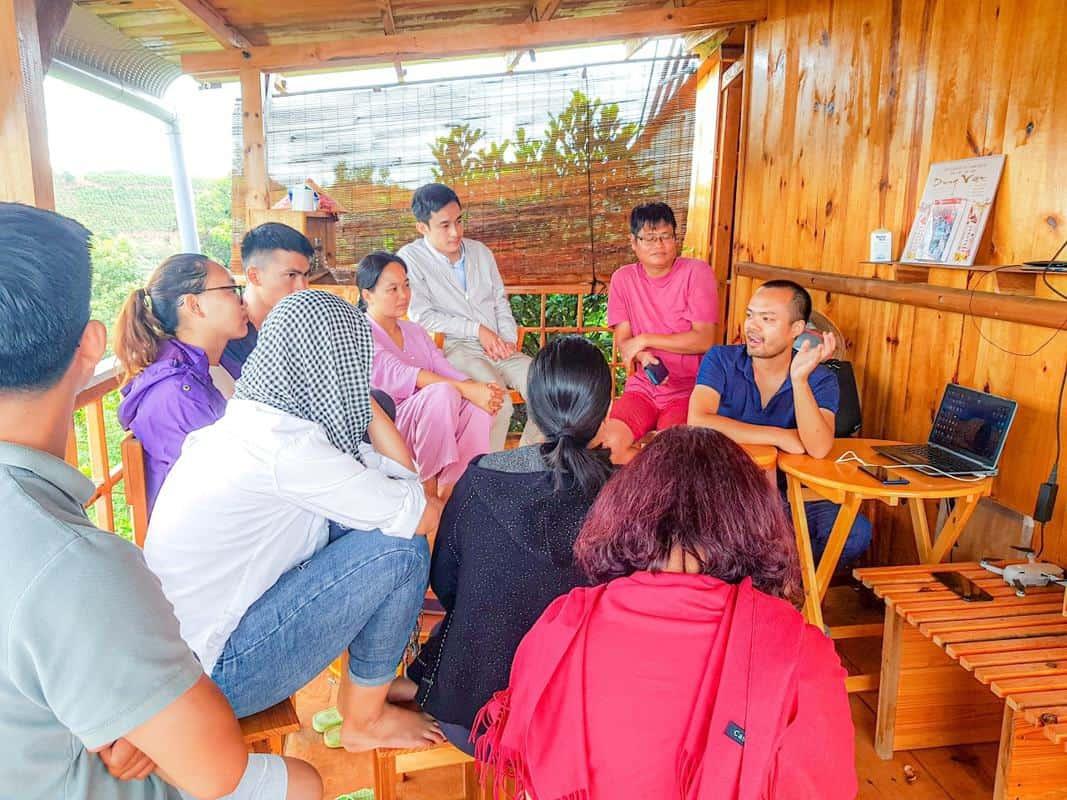 phát triển cộng đồng farmstay