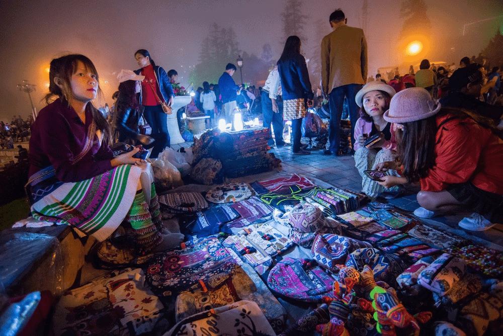 đồ gia dụng tại chợ đêm sapa