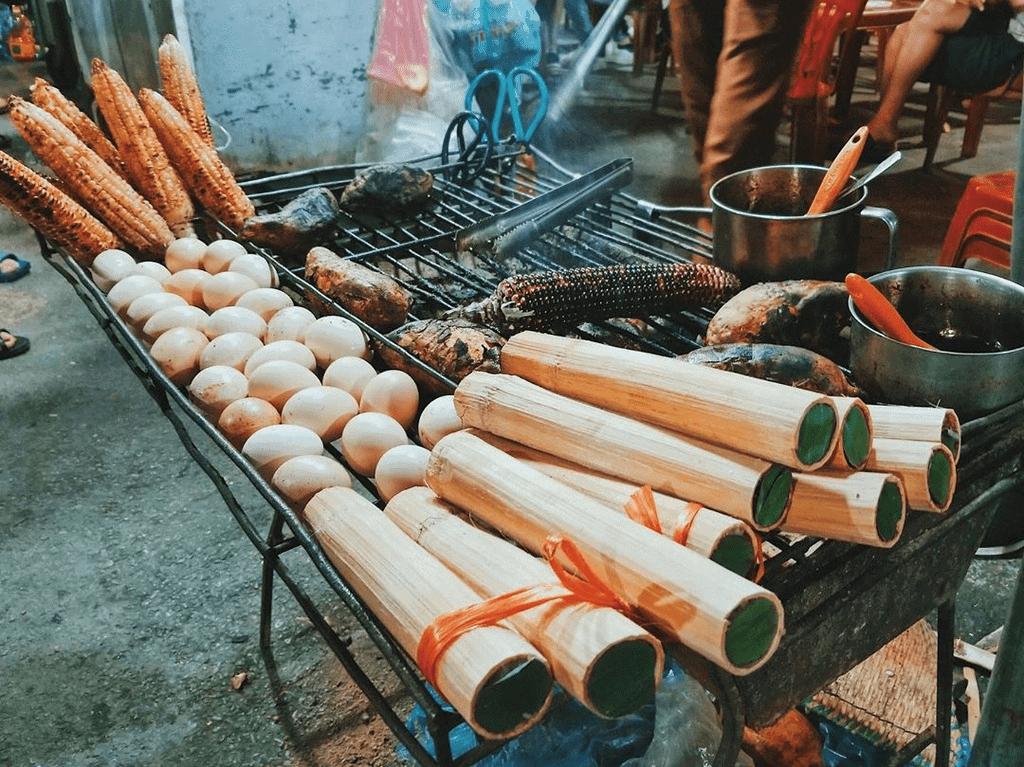 sức hút của đồ nướng ở sapa đối với du khách
