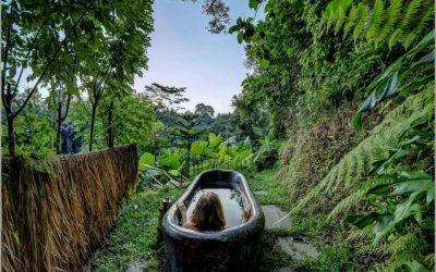 Phòng tắm farmstay